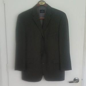 Kenneth Cole black suit. Jacket & pants.  42s 36w